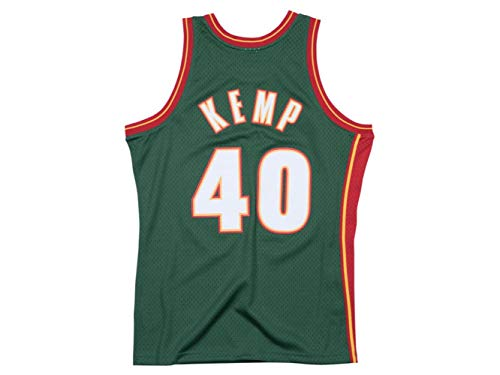 Outerstuff Youth Shawn Kemp Seattle Supersonics Green Hardwood Classic Jersey (Youth X-Large (18-20))