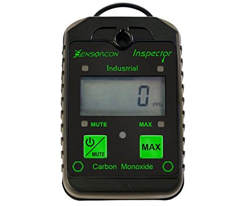 (Tough, Waterproof, USA Made: Certified Intrinsically Safe Carbon Monoxide Detector & CO Meter (CO Inspector Industrial by Sensorcon))