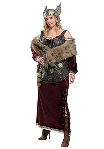 Fun Costumes Women's Plus Sized Viking Goddess - 2X