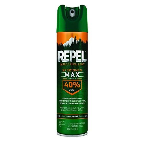 Repel Sportsmen Max Formula Insect Repellent Aerosol, 6.5-oz, 6-PK