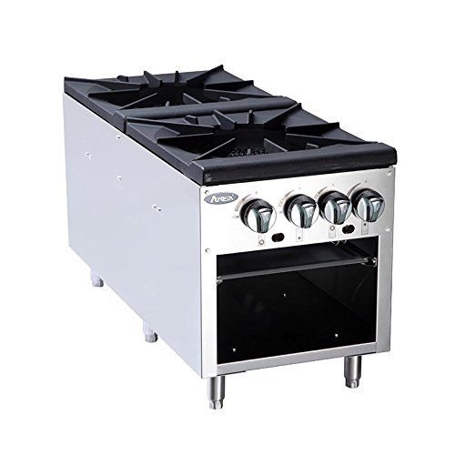 Double Gas Stock Pot Stove by Atosa