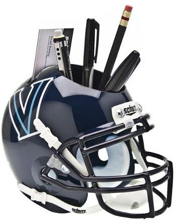 Athlon CTBL-016720 Villanova Wildcats NCAA Football Schutt Mini Helmet Desk Caddy   B07BSL6TT7