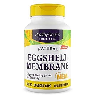 Healthy Origins Eggshell Membrane (NEM) 500 mg, 60 Veggie Caps