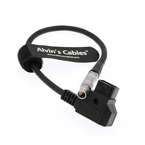 Alvin's Cables 4 pin FFA 0S 304 to D-tap Power Cable for Z Cam E2 Camera ()