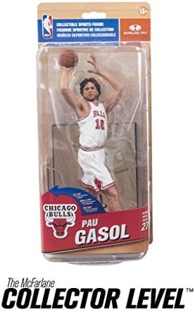 Chicago Bulls NBA Series 27 Action Figure: Pau Gasol (MVP Level Variant) by NBA: Amazon.es: Juguetes y juegos