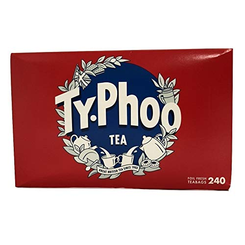 Typhoo Tea 240 Bags (160 Bags + 80 Bags Free)