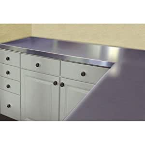 Countertop 24 X 48 : Stainless Steel Counter Top Size: 1.5