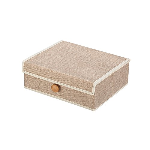 Foldable Storage Cube Basket Bin (Cream) (Outdoor Patio Furniture Sale Walmart)