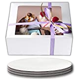 Cake Boxes 10 x 10 x 5 and Cake Boards 10