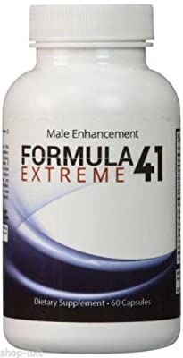 Formula41 Extreme - 1Month-Supply Penis Enhancement - Male Size and Stamina from Alinka