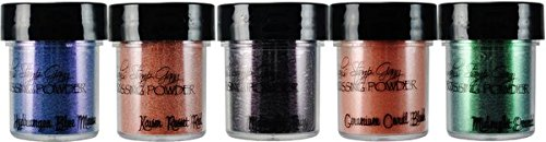 Lindy's Stamp Gang 2-Tone Embossing Powder, 0.5-Ounce, Victorian Bouquet, 5 Per Package