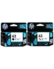 Hp Ink Cartridge 63 Combo ( Black And Color )
