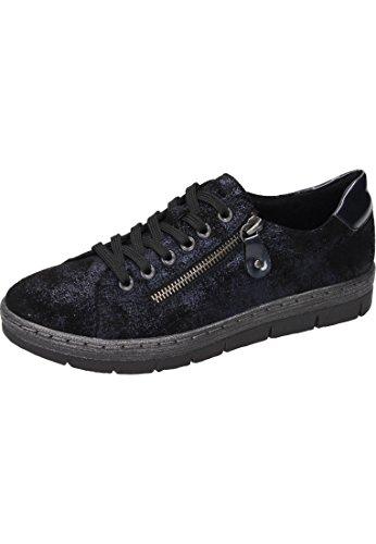 metallic D5800 Femme Remonte navy Pazifik Basses Sneakers q6wnafAX