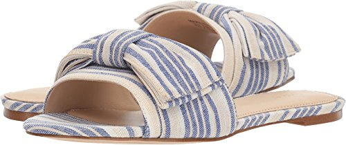 botkier Women's Marilyn Blue Stripe 7 M US