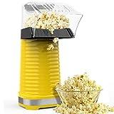 Hot Air Popper Popcorn Maker, 1200W Hot Air Popcorn Popper, Electric...