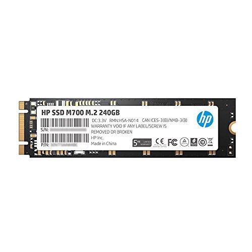 HP M700 M.2 240GB SATA III Planar MLC NAND Internal Solid State Drive (SSD) 3DV77AA#ABC by HP