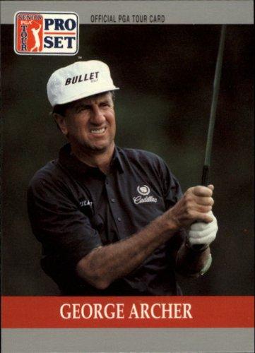 1990 Pro Set PGA Golf #85 George Archer (Golf Pga Card)