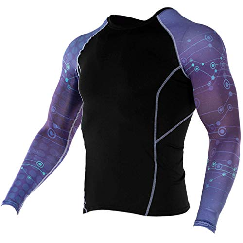 T-Shirt Dry Fit Athletic Compression Shirt Compression Baselayer