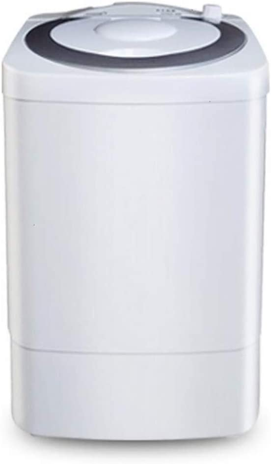 Lavadoras de ropa Secado de la máquina semiautomática con Lavadora, Lavadora pequeña for Uso doméstico, PP Lavadora Blanco Verde