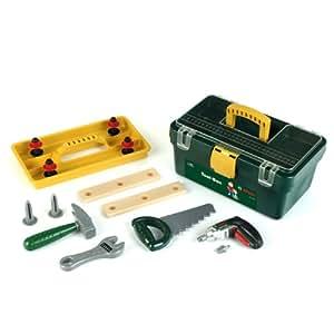 Theo Klein 8305 Bosch - Caja de herramientas con accesorios [Importado de Alemania]
