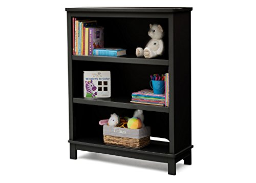 Bookcase/Hutch For Books and Toys - Black ()