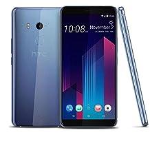 HTC U11 Plus (2Q4D100) 6GB / 128GB 6.0-inches LTE Dual SIM Factory Unlocked - International Stock No Warranty (Amazing Silver)