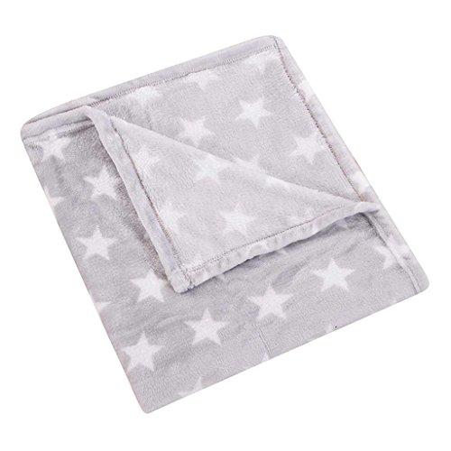 (HYSEAS Velvet Plush Throw, Home Fleece Throw Blanket, 50