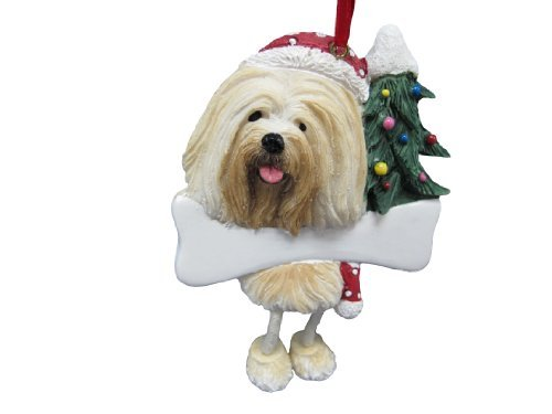 Lhasa-Apso-Ornament-with-Unique-Dangling-Legs-Hand-Painted-and-Easily-Personalized-Christmas-Ornament