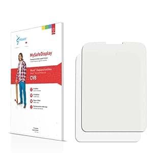 2x Vikuiti MySafeDisplay protector de pantalla CV8 de 3M para Nokia C1-01 (2010)