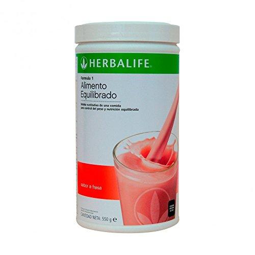 Herbalife Batido Formula 1 Fresa 550g (Elige Sabor): Amazon.es: Salud y cuidado personal