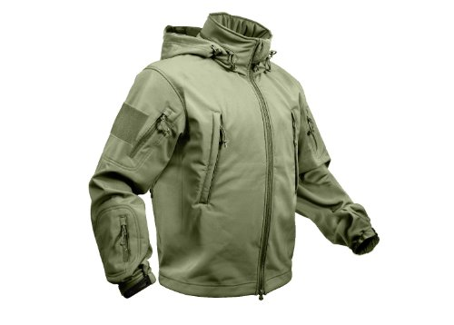Rothco Special Ops Soft Shell Jacket, Olive Drab, Large