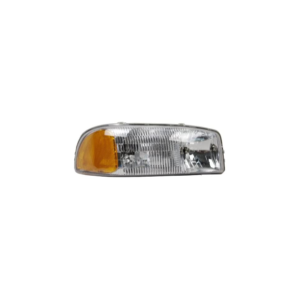 OE Replacement GMC Jimmy/Yukon/Sierra Passenger Side Headlight Assembly Composite (Partslink Number GM2503188)