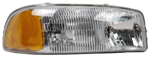 (OE Replacement GMC Jimmy/Yukon/Sierra Passenger Side Headlight Assembly Composite (Partslink Number GM2503188))