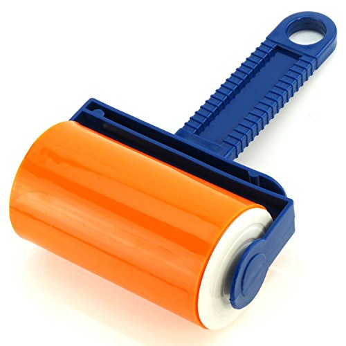 Hangerworld Washable Lint Roller with Cover - Fluff, Pet Hair & Dust...