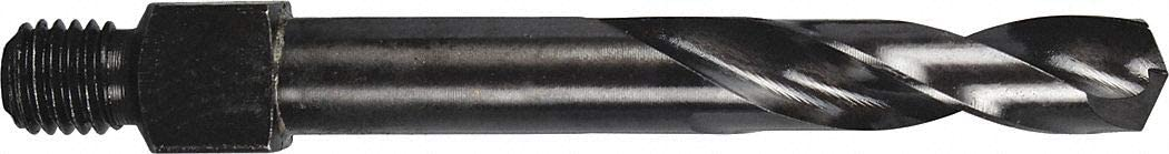 Black Oxide Cobalt Drill Bit Size G 135/° Drill Bit Point Angle Threaded Shank Drill Bit
