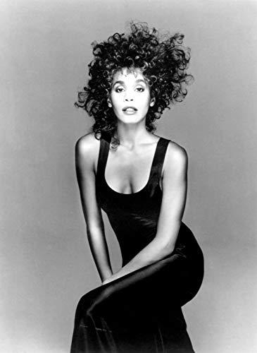 (bribase shop Whitney Houston Music Star Poster 17 inch x 13 inch)