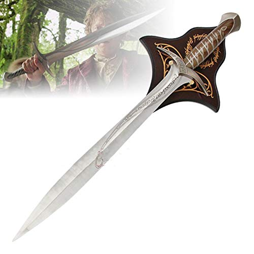 (RealFireNSteel Lord of The Rings and The Hobbit - Frodo and Bilbo's Sting Sword)