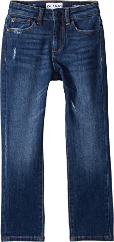 DL1961 Kids Baby Boy's Hawke Skinny Jeans In Castaway (Toddler/Little Kids) Castaway 6 (Skinny Straight Sleek Jeans)