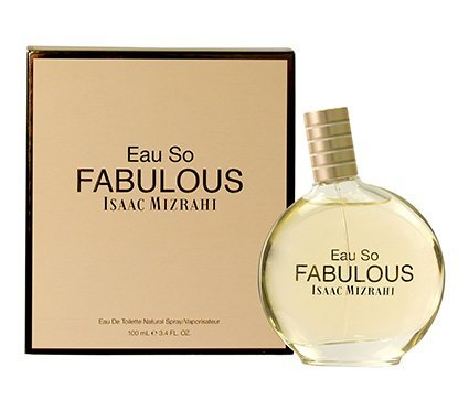 Isaac Mizrahi Eau So Fabulous Eau de Toilette Spray for Women, 3.4 (Jasmine Raspberry Eau De Toilette)