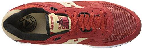 Saucony Originals Homme Ombre 5000 Classique Rétro Sneaker Rouge