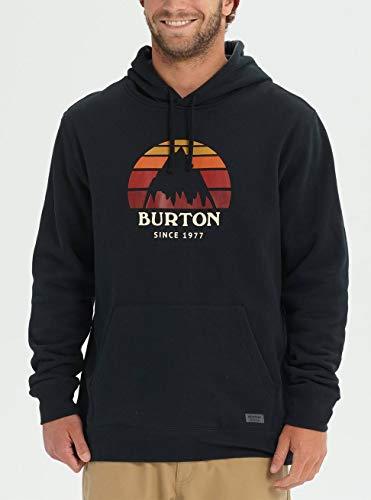 Capuche Pullover À Burton True Black Homme Underhill Sweatshirt ISTnnxB