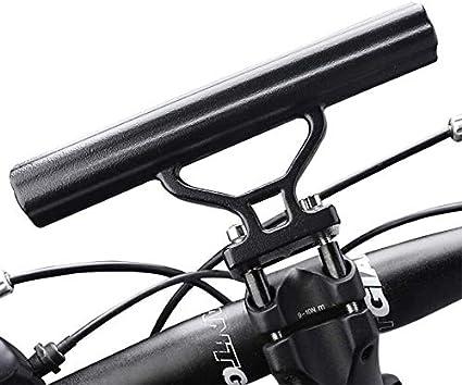 Bike Handlebar Extender Bracket for Bicycle E-Bike Lamp GPS Phone Mount Holder