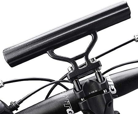 Bicycle Light Holder Carbon Fiber Bike Handlebar Extender Mount Bracket Sta