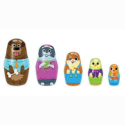 Schylling Little Classics Family Pets Tin Nesting Dolls: Toys & Games
