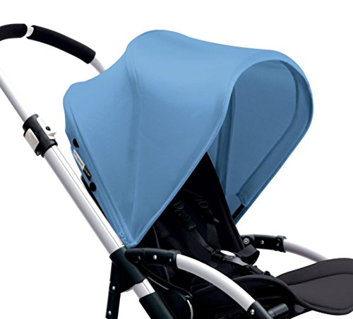 Bugaboo Bee3 Sun Canopy, Ice Blue (Stroller not included)