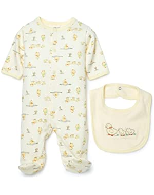 Unisex Baby Duck Layette Set