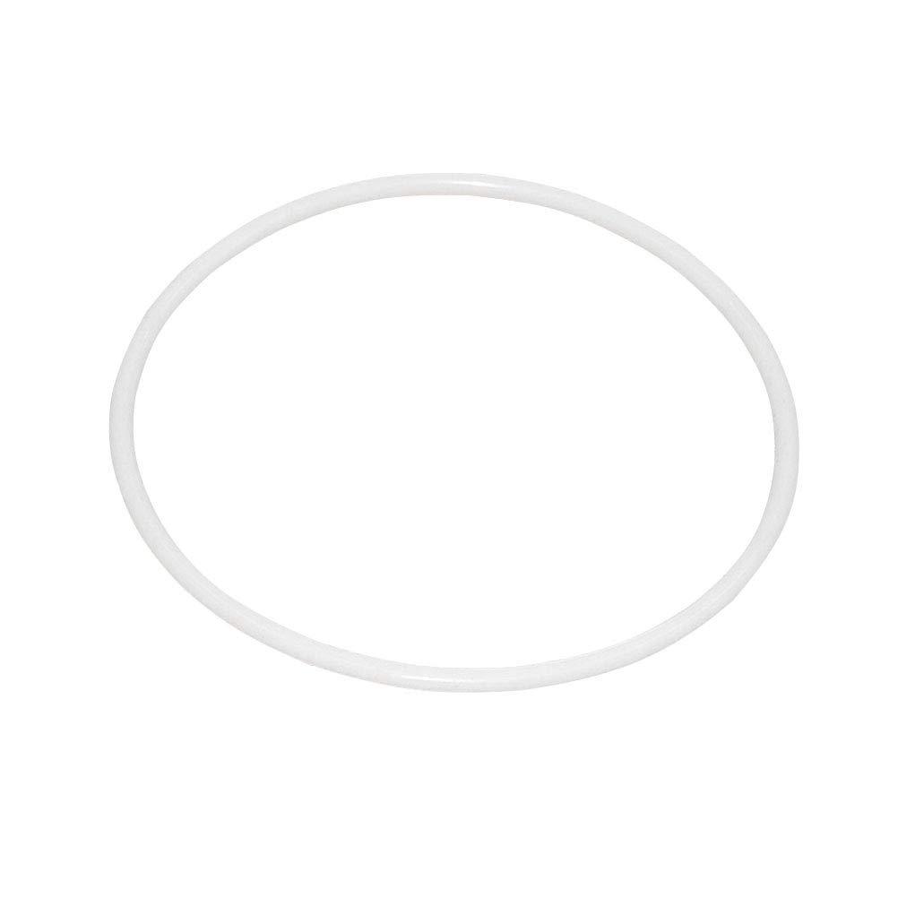 LIOOBO Anneaux en plastique blanc cerceaux ronds cercle en osier fait à la main Matériel pour Dream Catcher DIY Craft 10 Pcs