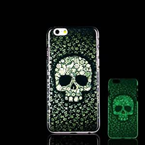 HJZ iPhone 6 Plus compatible Novelty/Graphic/Glow in the Dark Back Cover