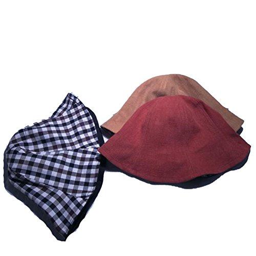 - Ablaze Jin Double-Sided Light Fisherman Basin Wild Visor Dual-Use Literary Tide Hats Student Hat,Yellow