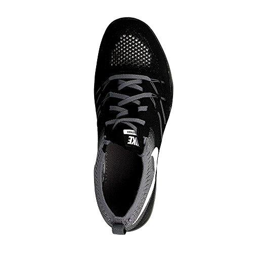Nike Womens Free Transform Scarpe Da Allenamento Flyknit Nero / Grigio Scuro